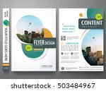 green abstract circle cover... | Shutterstock .eps vector #503484967