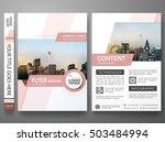 brochure design template vector.... | Shutterstock .eps vector #503484994