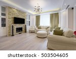 interior living room | Shutterstock . vector #503504605
