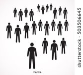 people icon | Shutterstock .eps vector #503506645
