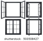 Collection Of Black Window...