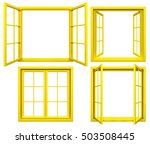 Collection Of Yellow Window...