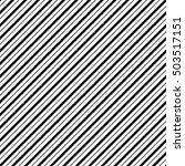 diagonal lines seamless... | Shutterstock . vector #503517151