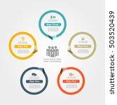 infographic design template...   Shutterstock .eps vector #503520439