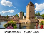 strasbourg the capital and... | Shutterstock . vector #503542321