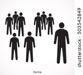 people icon  | Shutterstock .eps vector #503542849