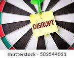 disrupt | Shutterstock . vector #503544031