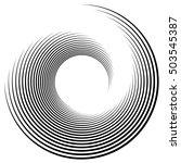 Spiral  Vortex Shape  Element....