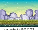 cartoon vector sky background...   Shutterstock .eps vector #503551624