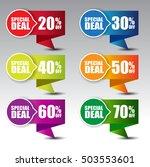 web sale banner   Shutterstock .eps vector #503553601