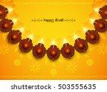 yellow color vector background...   Shutterstock .eps vector #503555635