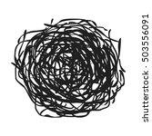 Tumbleweed Icon In Black Style...