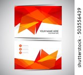 business card design | Shutterstock .eps vector #503556439