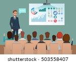 business professional work team ... | Shutterstock .eps vector #503558407