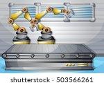 cartoon vector illustration... | Shutterstock .eps vector #503566261