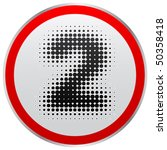 numbers two | Shutterstock .eps vector #50358418