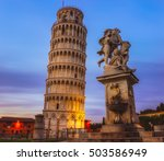The Leaning Tower Of Pisa Is...