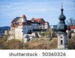 Medieval Castle Burghausen In...