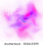 Abstract Pink Background. Thre...