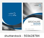 brochure annual report  layout... | Shutterstock .eps vector #503628784