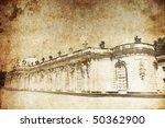 Palace Sanssouci In Potsdam...
