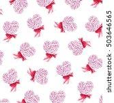 watercolor illustration pattern ... | Shutterstock . vector #503646565