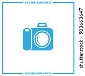 camera icon vector illustration | Shutterstock .eps vector #503663647