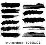 grungy design elements   Shutterstock .eps vector #50366371