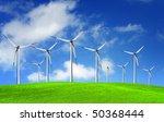wind power | Shutterstock . vector #50368444