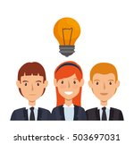 business people avatars group | Shutterstock .eps vector #503697031