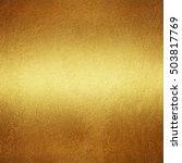 gold metal background | Shutterstock . vector #503817769