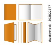 a set of books in different... | Shutterstock .eps vector #503822977