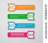vector infographic template | Shutterstock .eps vector #503868145