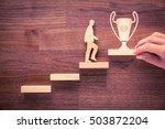 personal development  personal... | Shutterstock . vector #503872204