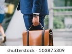 closeup of a businessman... | Shutterstock . vector #503875309