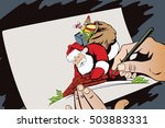 stock illustration. people in... | Shutterstock .eps vector #503883331