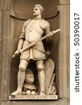 Постер, плакат: Statue of Giovanni dalle