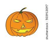 halloween pumpkin | Shutterstock .eps vector #503913097