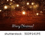 elegant christmas background... | Shutterstock .eps vector #503914195