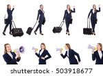 travel vacation concept with...   Shutterstock . vector #503918677