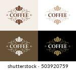 fine flourish luxury... | Shutterstock .eps vector #503920759