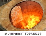 bread in the traditional... | Shutterstock . vector #503930119