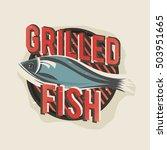 creative logo design with... | Shutterstock .eps vector #503951665