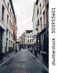 brussels  belgium  small... | Shutterstock . vector #503955601