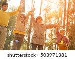 medium group of childrenl... | Shutterstock . vector #503971381