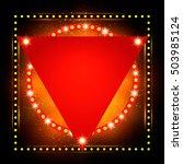 abstract shining retro light...   Shutterstock .eps vector #503985124