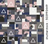 color geometric shapes square... | Shutterstock .eps vector #503993449