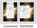 abstract vector layout... | Shutterstock .eps vector #503993485