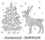 hand drawn vector stock... | Shutterstock .eps vector #503994139