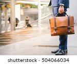 closeup of a businessman... | Shutterstock . vector #504066034